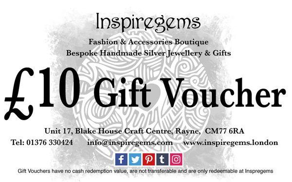 £10.00 Gift Vouchers
