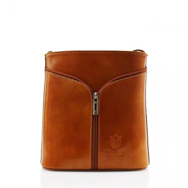 Small Cross Body Tan Leather Bag