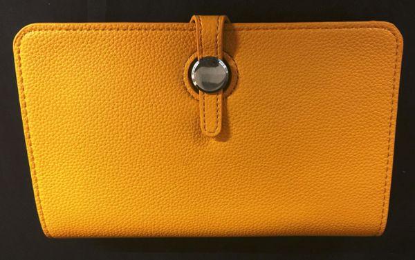 Yellow Designer Inspired Clutch Purse