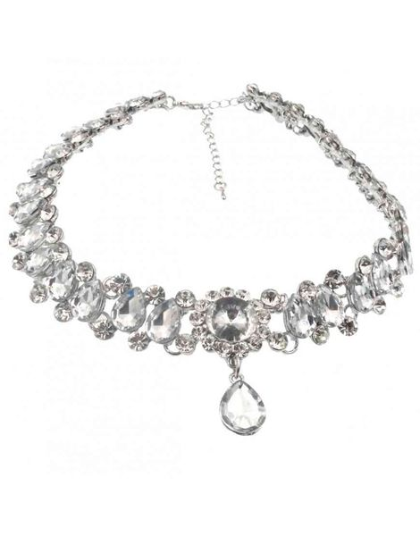 Diamante Low Choker