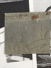 CHARLES NUNGESSER WWI ACE 43 COMBAT VICTORIES FABRIC FROM HIS NIEUPORT 17 COMBAT PLANE