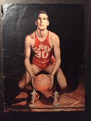 BOB ZEKE ZAWOLUK SIGNED PHOTO ST JOHNS UNIVERSITY FORWARD & NBA