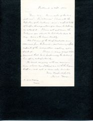 GENERAL NEAL S. DOW AUTOGRAPH LETTER SIGNED BY FATHER OF PROHIBITION AND CIVIL WAR GENERAL