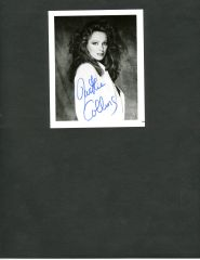 JACKIE COLLINS AMERICAN AUTHOR SIGNED PHOTO