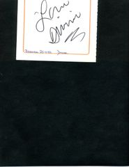 DRAG QUEEN DIVINE AUTOGRAPH OF FEMALE IMPERSONATOR FAMOUS FOR ROLES IN JOHN WATERS FILMS