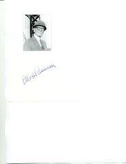 OTHMAR AMMANN SIGNATURE OF DESIGNER AND ENGINEER OF OVER HALF OF NEW YORK CITY BRIDGES