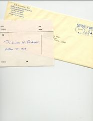 DICKINSON W. RICHARDS SIGNED & DATED ON PRESCRIPTION FORM-NOBEL PRIZE CARDIAC CATHETERIZATION