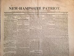 WAR OF 1812 PREPARATIONS IN HISTORIC NEWSPAPER AND WILLIAM HENRY HARRISON BATTLES THE PROPHET
