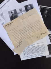 JOHN T. SCOPES, CLARENCE DARROW, WM. J. BRYAN ALL 3 SIGNED SCOPES CREATION-EVOLUTION TRIAL ARCHIVE