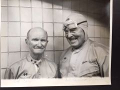 EARL COOPER & COL ROSCOE TURNER SIGNED 1961 INDY 500 ANNIVERSARY PHOTO
