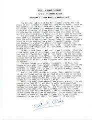 ARTHUR C. CLARKE 2001: A SPACE ODYSSEY TYPESCRIPT SIGNED