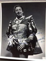 JOHN BROOKS MCCORMACK SIGNED PHOTO AS THE DUKE IN RIGOLETTO, ANIMAL TRAINER
