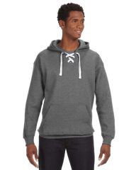 STEALTH LACE UP HOODIE WITH LOGO