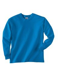 SALEM ELEMENTARY LONG SLEEVE T-SHIRT WITH LOGO ON FRONT