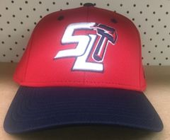 SLJL TRAVEL BASEBALL RED BASEBALL HAT LG/XL