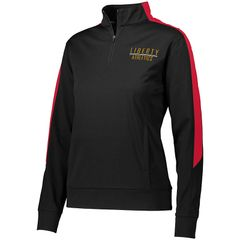 NYHA LADIES MEDALIST 1/4 ZIP PULLOVER WITH EMBROIDERED LOGO