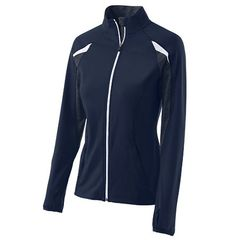 LYNX HOLLOWAY LADIES TUMBLE JACKET WITH EMBROIDERED LOGO