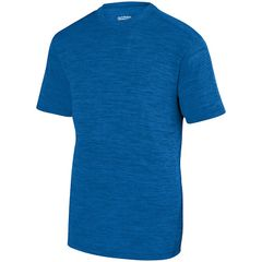 SLTB SHADOW TONAL HEATHER T-SHIRT WITH LOGO