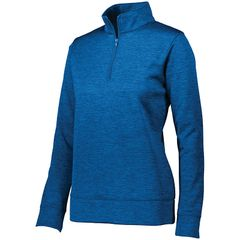 KV CHAMBER LADIES STOKED TONAL 1/4 ZIP WITH EMBROIDERY
