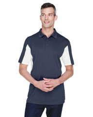 MMS STAFF POLO SHIRT WITH EMBROIDERED LOGO