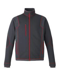 FIREBIRDS FLEECE BONDED JACKET WITH EMBROIDERED LOGO