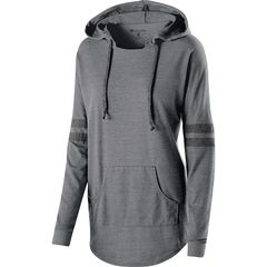 SLTB LADIES LOW KEY PULLOVER WITH HOOD AND LOGO