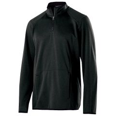 FIREBIRDS ARTILLARY 1/4 ZIP PULLOVER WITH EMBROIDERED LOGO