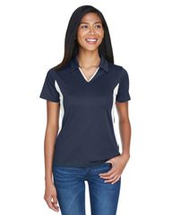 MMS STAFF LADIES POLO WITH EMBROIDERED LOGO