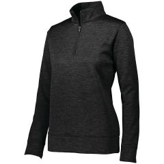 FIREBIRDS LADIES STOKED TONAL 1/4 ZIP PULLOVER WITH EMBROIDERED LOGO
