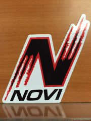 N NOVI WINDOW DECAL