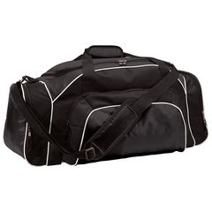 MDAO TOURNAMENT DUFFLE BAG WITH EMBROIDERED LOGO ON SIDE PANEL