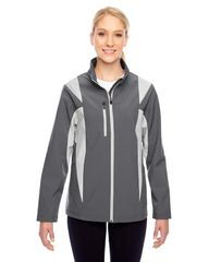 GEARS LADIES SOFT SHELL JACKET WITH EMBROIDERED LOGO