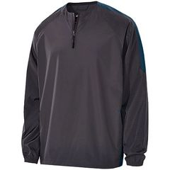 STEALTH BIONIC 1/4 ZIP PULLOVER WITH EMBROIDERED LOGO