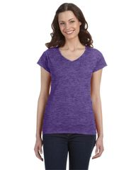 SALEM ELEMENTARY LADIES V-NECK T-SHIRT WITH LOGO