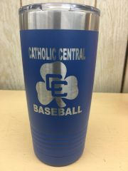 CC BASEBALL POLAR CAMEL 20 OZ TUMBLER WITH CC LOGO ENGRAVED