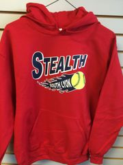 STEALTH HOODIE WITH LOGO