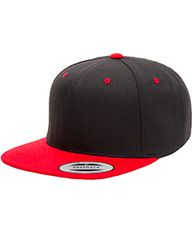 WL FLATBILL SNAPBACK HAT WITH EMBROIDERY