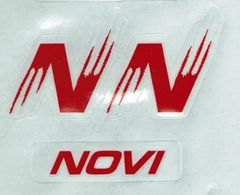 NYHA NOVI HOCKEY HELMET DECALS