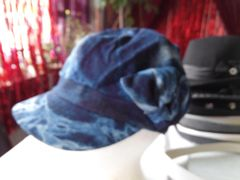 Blue Denim Newsboy Cap