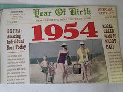 YOB Cards 1950-1959