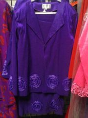 3 PC Purple Suit #4002