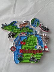 Lg Michigan Territory Magnet