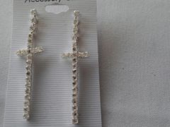 Cross Earrings #3117