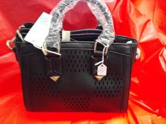 Black Cut Out Handbag