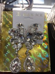 Clear Rhinestone Earrings #3251