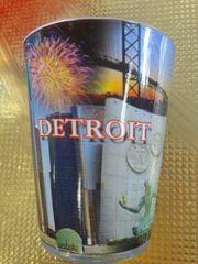 Detroit Spirit Shot Glass 1459