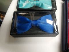 Royal Blue Bow Tie #M1