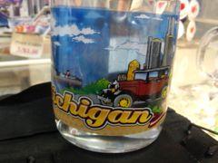 Michigan Glass Mug 2152
