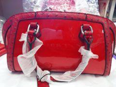 Red 2 Tone Handbag