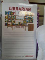 Librarian Notepad
